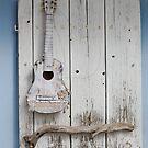 Whitewash Guitar by MMCFraser