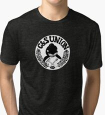 C&S Union: Union of Killer Whale Tank Clean and Scrub Men Tri-blend T-Shirt