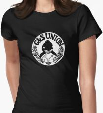 C&S Union: Union of Killer Whale Tank Clean and Scrub Men Women's Fitted T-Shirt