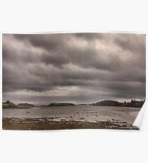 Low tide on Donegal Bay Ireland Poster