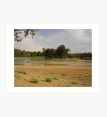 Inchiquin Lake, Clare, SA Art Print