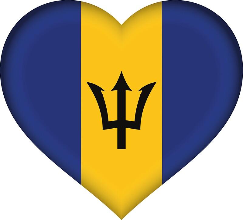 Barbados flag by vincollector