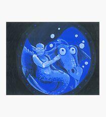 underwater friends Photographic Print