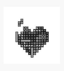 Love Tetris Photographic Print