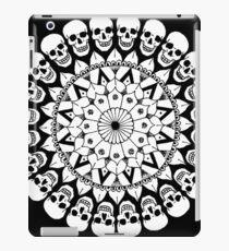 Mandala - Circle of Skulls iPad Case/Skin