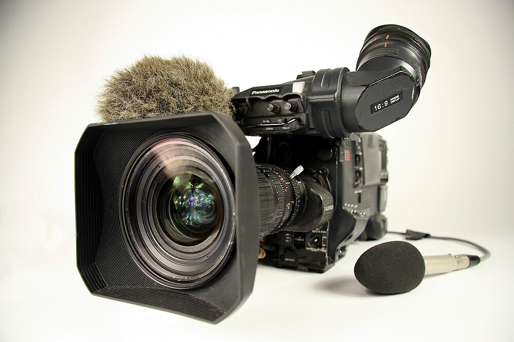 Panasonic professional video camera by peteroxcliffe
