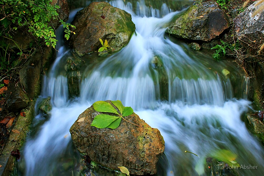 Soft Flow by John Absher