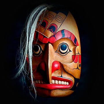 American Indian Mask by johnny55