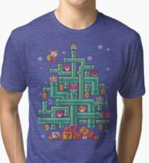 It's a tree, Mario! Tri-blend T-Shirt