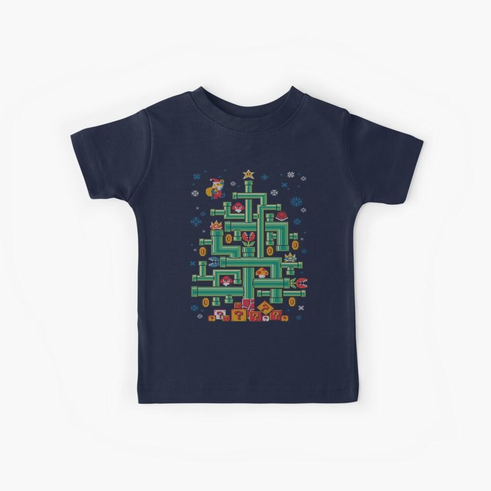 It's a tree, Mario! Kids T-Shirt