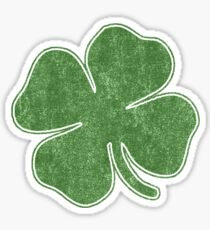 Vintage Shamrock Sticker