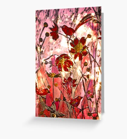To My Jade with Love - Chine Colle Print Greeting Card