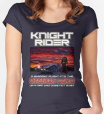 Knight Rider Women's Fitted Scoop T-Shirt