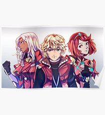 Red Trio Poster