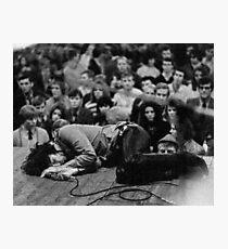 The Doors LIVE - Jim Morrison Photographic Print
