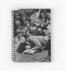 The Doors LIVE - Jim Morrison Spiral Notebook