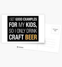 Craft Beer Postcards