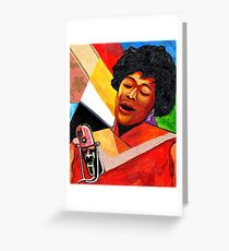 Ella Fitzgerald Lady of Song Greeting Card