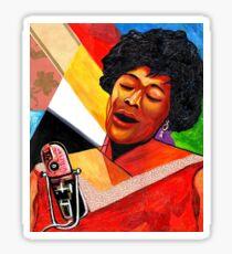 Ella Fitzgerald Lady of Song Sticker