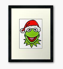 The muppet christmas Framed Print