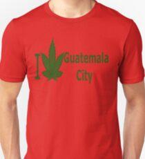 0025 I Love Guatemala City  Unisex T-Shirt