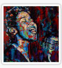 The Beauty of Ella Fitzgerald Sticker