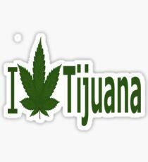 0019 I Love Tijuana Sticker