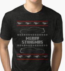 Merry Stangmas - s197 Version Tri-blend T-Shirt