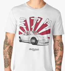 Mazda MX-5 (white) Men's Premium T-Shirt
