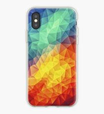 Abstract Multi Color Cubizm Painting iPhone Case