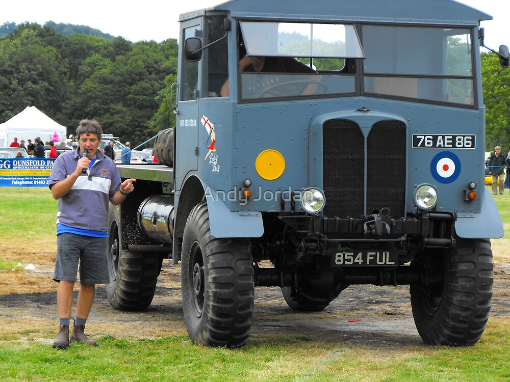 Old military lorry by Andy Jordan