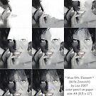 """""""Miss 5th. Element"""" work-in-progress-scans by lazart"""