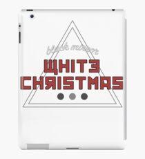 white christmas iPad Case/Skin