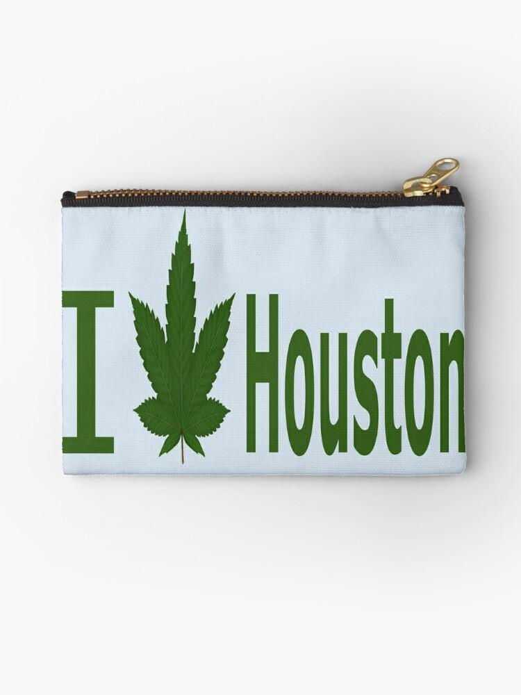 0007 I Love Houston by Ganjastan