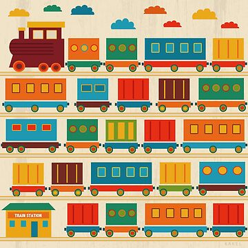 Train by Kakel