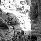 PETRA TRAVELLERS by BYRON
