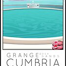 Lido Poster Grange over Sands by Steven House