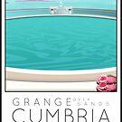 Lido Poster Grange over Sands by Steven House