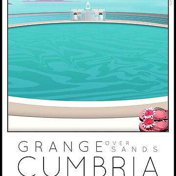Lido Poster Grange over Sands by stevenhouse
