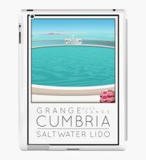 Lido Poster Grange over Sands iPad Case/Skin