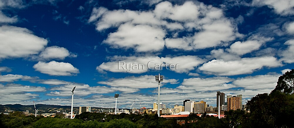Clouds over Adelaide. by Ryan Carter