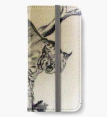 Bob Cat In A Tree iPhone Wallet/Case/Skin