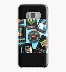 Tarot Deck - Tarot Readings With Wooden Pentagram Incense Burner Samsung Galaxy Case/Skin
