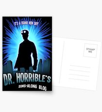 Dr. Horribles sing-along blog  Postcards