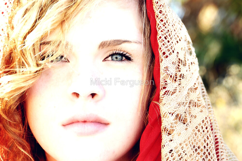 The Red Scarf by Micki Ferguson