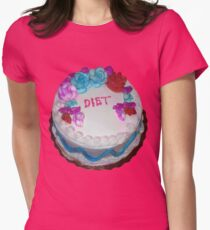 Diets not Riots Womens Fitted T-Shirt