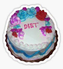 Diets not Riots Sticker