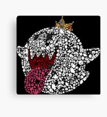 King Boo Collage (Black Background)  Canvas Print