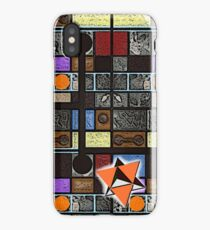COMPOSITION MINUS ONE 2 iPhone Case/Skin