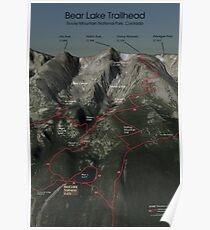 Bear Lake Trailhead - Rocky Mountain National Park Poster